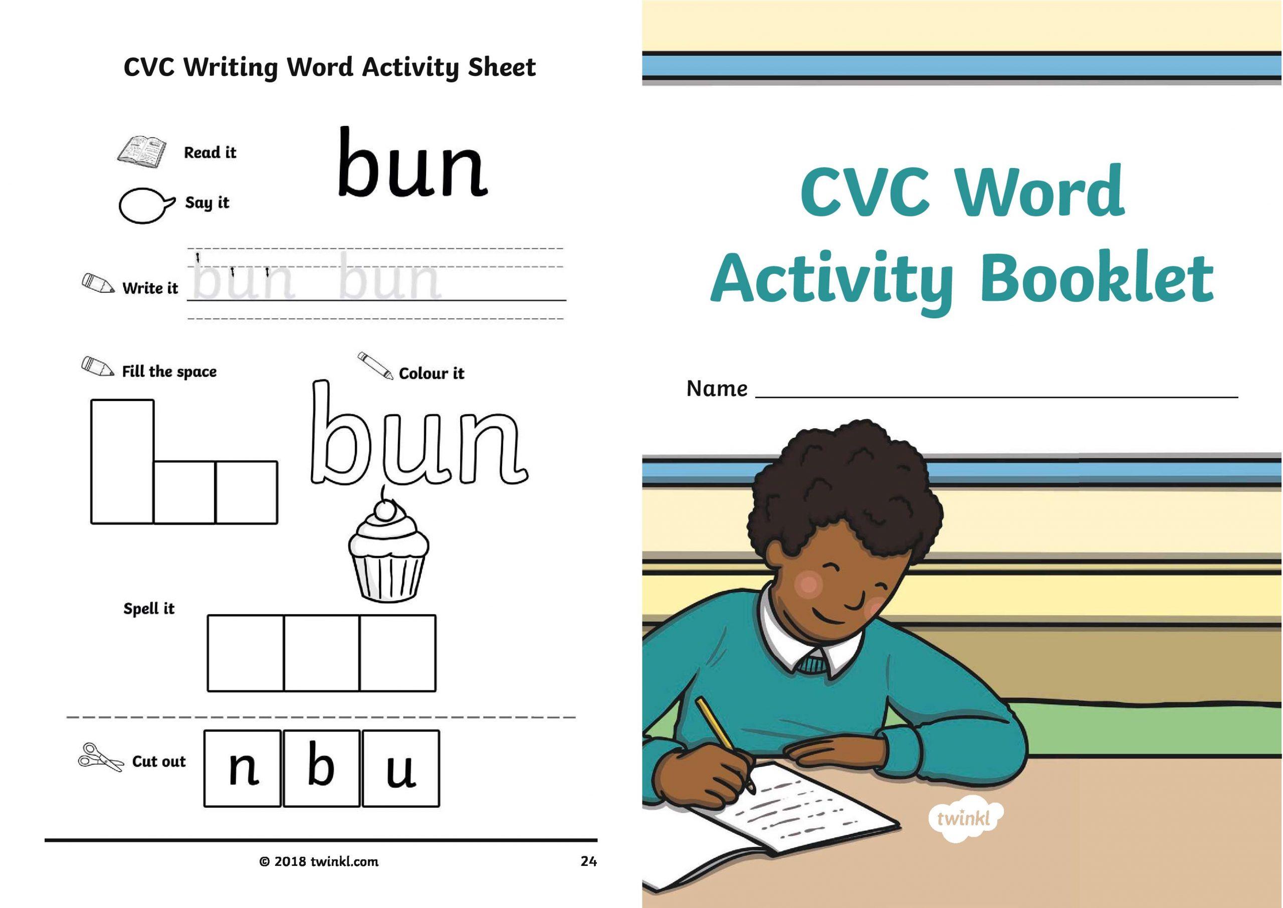 cvc booklet