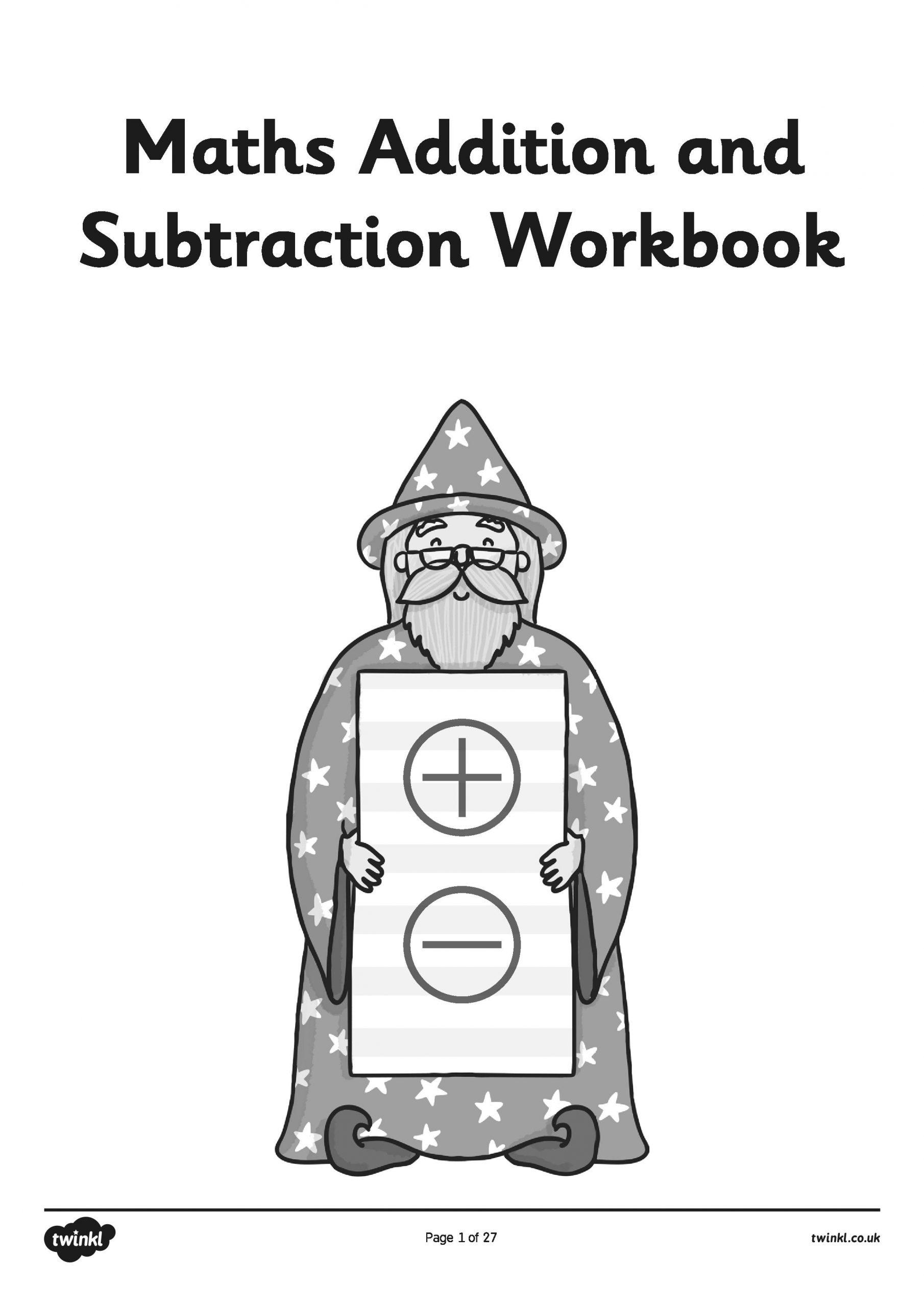 maths booklet